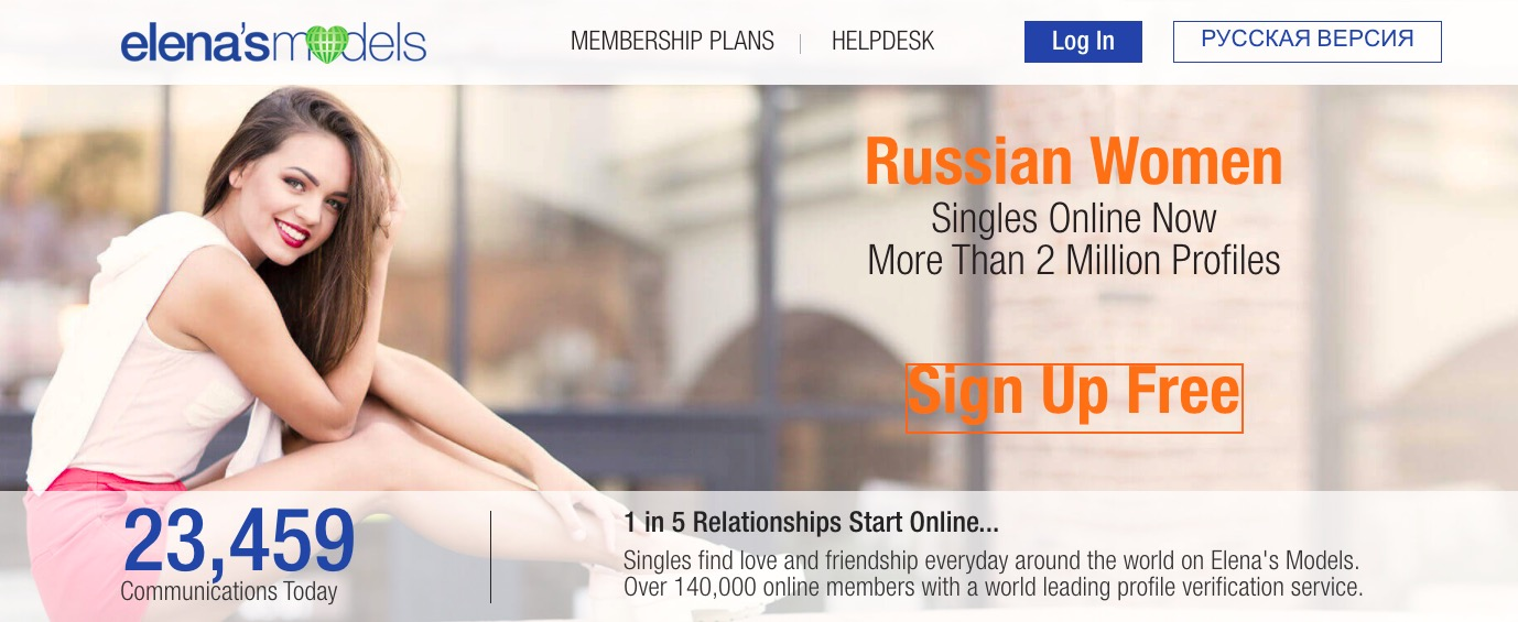 Elena's Models main page