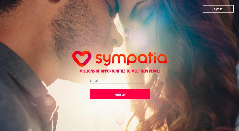 Sympatia.pl main page